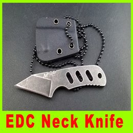 Free shipping U.S MTech MINI mini neck knife Fixed blade knives outdoor gear knife survival knife gift 783L