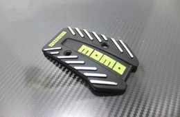 Wholesale eplacement Parts Pedals Momo Aluminum Non Slip Universal Manual Transmission Car Pedals Pad Auto Vehicle Accelerator Pedal Black Cl