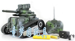 [New arrival] [Hot sale] Classic lovely child model toy Remote control electric tank Ultralarge channel RC tank