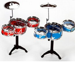 Wholesale Kids Jazz Drum Toys Musical Instrument Set Children Percussion Beating Music Toys Band Drum Education Toys