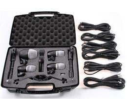 Ensembles de batterie à vendre-De haute qualité Nouvel emballage PGDMK6 tambour instrument micro Set PG52 PG56 PG81 tambour instrument microphone ensemble