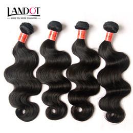 "Brazilian Virgin Hair Weave Body Wave 8""-36"" 9A Top Quality Brazilian Human Hair Weave 4 Bundles Unprocessed Brazillian Wavy Hair Extensions"
