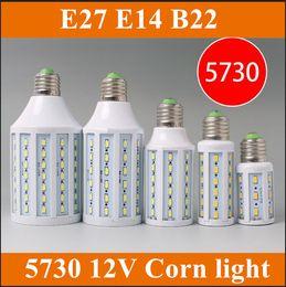 Wholesale 2X Corn Light Lamp Battery lamp marine lights solar energy W W W W W V E27 E14 B22 degree lighting