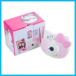 Fujifilm Instax Mini Hello Kitty Instant Camera INS MINI KIT Polaroid (Refurbished) Free shipping 1pc