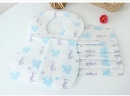 Wholesale In stock Summer Infant Keep Me Clean baby boy girl Disposable Bibs