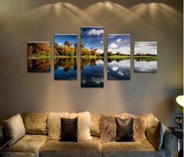 5 Panels lark views modern art canvas wall paintings cuadros decorativos canvas prints paintings for living room wall F 1471
