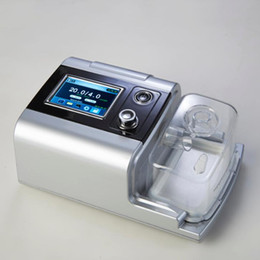 Fast Shipping Portable Auto CPAP Machine For Sleep Apnea therapeutic device Silver Shell 3.5 Inch TFT Screen