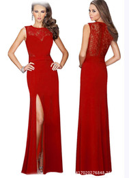 Wholesale Evening dress red carpet dresses occasion dresses Sexy Sleeveless Evening Celebrity Red Carpet Pageant Prom red evening Dress