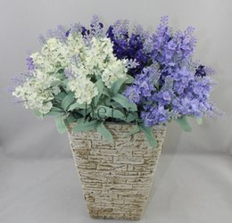 Wholesale Pastoral Style Lavender Decorative Flower Artificial Flower Silk Cloth Real Touch Artificial Simulation Best Gifts AF206