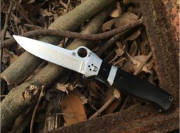 Wholesale Spyderco C149 Vallotton Sub hilt Folder C149g Folding Knife Cr13Mov HRCHandle Drop