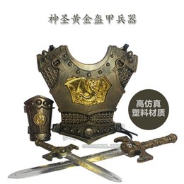 Wholesale Free shiping Retro game props ancient war classic Roman armor and equipment equipment Ares boy can wear