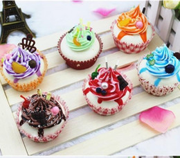 Wholesale rare squishy cake cupcake home decorated bread model soft squishies jumbo slow rising MIX COLOR