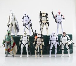 Star Wars Stormtrooper 9 styles PVC Action Figure Collectible Model Toy KT698