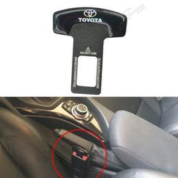 10pc Brand Seat Plug Buckle Black Car Covers Safety Belt Clip For Toyota Camry Corolla Mark X Highlander Prado Car - Styling