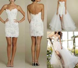 Wholesale 2015 News design Fashion Wedding Dresses Lace Appliques Decoration Detachable design sexy beautiful Charm bridal gowns