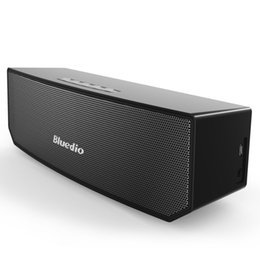 Wholesale Bluedio BS Camel Bluetooth speaker Portable Wireless speaker Home Theater Party Speaker Sound System D stereo Music BY DHL