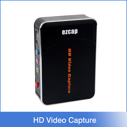 Wholesale 1080P HD Video Capture HDMI YPbPr Game Capture Recorder Box for XBOX One PS3 WII U with Professional Edit Software