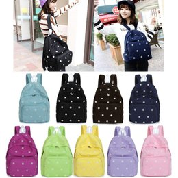 Fashion Girls Canvas Backpacks for Women Floral Daisy Embroidery School Bag Bolsa Rucksack Large Capacity Mochilas Femininas