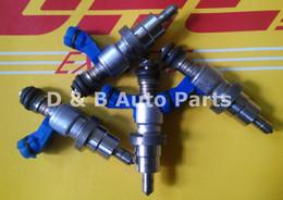 Wholesale 4pcs Original Genuine Denso Fuel Injectors For Toyota Crown