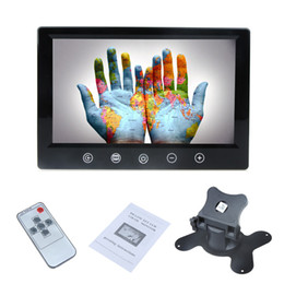 """Wholesale Car Roof Lcd Screen - 9"""" TFT LCD Car Rearview Color Mirror Monitor for VCD DVD GPS Camera With 2 AV Input Adjustable Screen order<$18no track"""
