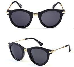 2015 Retro Vintage Sunglasses Women Brand Designer Points Sun Glasses Oculos De Sol Feminino Points men Gafas Sunglass YJ177