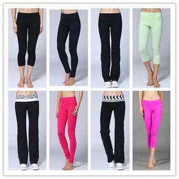 Wholesale Fashion groove pant Candy Lulu Color Pants Women s leggings Casual Leggings minutes of yoga pants size