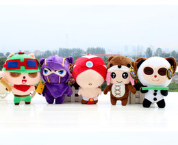 Wholesale 20cm cm League of Legends plush toy doll blind monk Kennan Anne anti pet Timo full set of dolls
