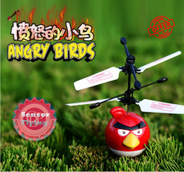 Wholesale Novelty Flying Bird UFO Drone Infrared Induction Amazing LED Flying Arrow Helicopter as Christmas Halloween Kids