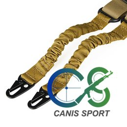 Double Point Tactical Airsoft Slings Tan Color for rifle scope for hunting shooting Free Shipping Cl13-0009