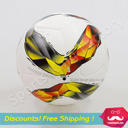 Wholesale 2016 Bundesliga football match dedicated skinning particle pattern ball High Quality Football