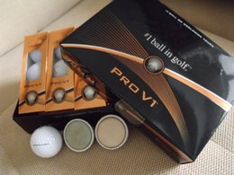 Wholesale 2015 New product golden package golf ball china post freeshipping