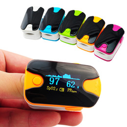 Wholesale 10PCS Health care Anti scratch screen Alarm setting OLED finger pulse oximeter spo2 pr blood oxygen monitor display direction mode