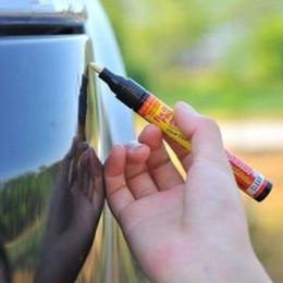 2017 repara coches Nueva Simple Match pintura clara de la reparación de defectos Pluma del agua de la cubierta no tóxico resistente para cualquier color repara coches Rebaja