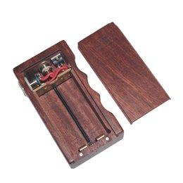Wholesale Newest Vapor APC V2 MOD Wood Box Mod APC V2 Box Mod fit for Battery Vaporizer E Cigarette Fit RDA Atomizer