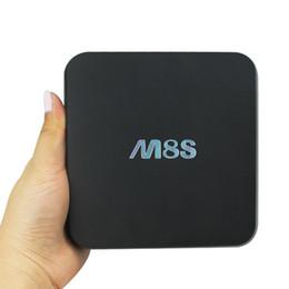 Amlogic android en Ligne-M8S Android TV Box Quad Core Amlogic S812 RAM 2G RAM 8G Smart TV Boîtes OTT IPTV KODI 15.2
