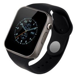 Wholesale 2016 News A1 Bluetooth Smart Watch Wrist Watch Men Sport watch for IOS IPHONE and ANDIORD Bluetooth watch