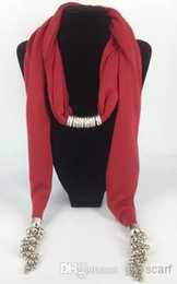 Wholesale 205 New Style Lady s Scarf Pendant Scarves Charm Grape CZ Dianmond Pattern Scarfs Fashion Jewelry Scarf