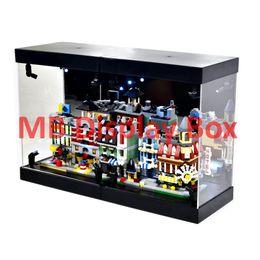 Wholesale MB Magic Box Display Box Acrylic Case LED Light House for mini Modulars Buildings Set