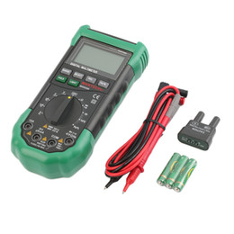 Wholesale MS8268 Digital LCD Screen Sound AC DC Auto Manual Range Digital Multimeter Hot Selling