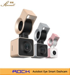 Wholesale ROCK AutoBot Eye Smart Car DVR Car DVRS Car Camera Dash Cam Video Recorder G Sensor WDR GPS Night Vision Novatek96655 Full HD P