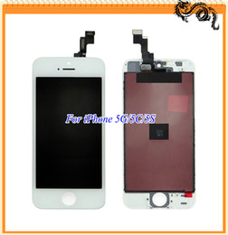 Wholesale 2016 Best Quality DHL Repair Parts Mobile Phone Display For iPhone C S Lcd Display Touch Screen Digitizer Full Assembly