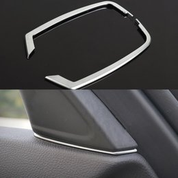 Wholesale 2 Set Car Styling Interior Door Loundspeaker Moulding Trim ABS For BMW Series F10 F11 LHD
