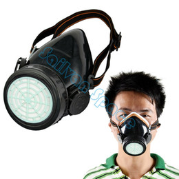 Promotion masque pour les produits chimiques Nouvelle arrivée anti-poussière de peinture de sécurité de pulvérisation chimique chimique Masque de gaz Respirateur Dropshipping B11 TK0856