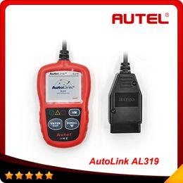 Wholesale Auto Diagnostic DIY Code Reader Autel AutoLink AL319 OBD2 Code Scan Tool Update On Official Website