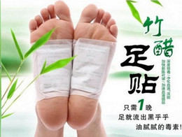 Wholesale Detox Foot Pads Patch Detoxify Toxins Keeping Fit Health Care with Adhesive Foot Cares Supply drop shipping