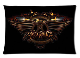 Aerosmith Rock Band Custom Pillowcase Cover Two Side Picture Size 20x30 Inch