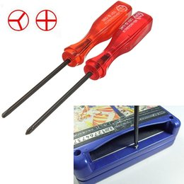 Wholesale 10 cm Tri Wing Cross Wing Screwdriver Repair Tool For Nintendo NDS DS Lite NDSL For Wii Advance Carts Approx