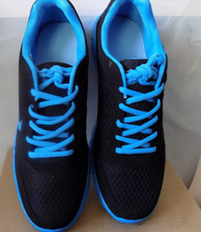 Caoutchouc respirante en Ligne-2015 Hot Sale Hommes Chaussures Nouveau léger respirant Mesh Sneakers Mens Casual Lace-up Sneakers Chaussures de sport en caoutchouc
