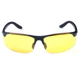 2017 meilleures lunettes de soleil gros Objectif gros-Best Men Night Vision Glasses Driving Anti-éblouissement polarisées Crépuscule Lunettes de soleil meilleures lunettes de soleil gros à vendre