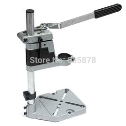 Wholesale Bench Drill Press Stand Clamp Base Frame for Electric Drills Collet mm mm TE439 Power Tool Stand Parts order lt no track